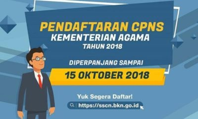 Pendaftaran online CPNS diperpanjang hingga 15 Oktober. (FOTO: ISTIMEWA)