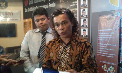 Perwakilan jaringan advokasi PSI, Manotar Tampubolon. (FOTO: NUSANTARANEWS.CO/Adhon)