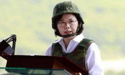 Presiden Taiwan Tsai Ing-wen (FOTO: AP)