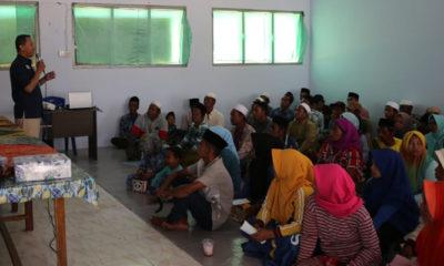 Satgas TMMD Pamekasan Sosialisasikan Program BPJS (Foto Dok. Nusantaranews)