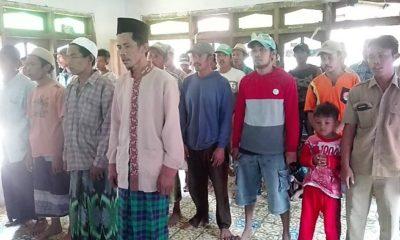 Satgas TMMD ke-103 Bondowoso berikan pembakalan wawasan kebangsaan warga desa Solor, Kabupaten Bondowoso. (FOTO: NUSANTARANEWS.CO/Prasetya)