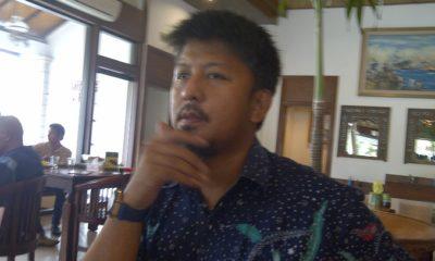 Wakil Ketua BPP Prabowo-Sandi Jatim bidang Advokasi, Renville Antonio. (FOTO: NUSANTARANEWS.CO/Setya)