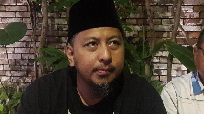Wakil Ketua BPP Prabowo Subianto-Sandiaga Jawa Timur, Renville Antonio. (FOTO; NUSANTARANEWS.CO/Setya)
