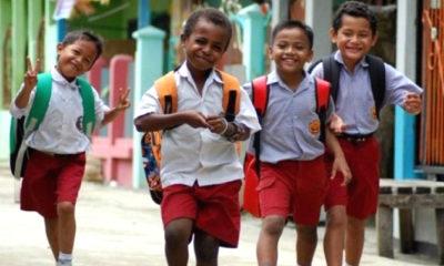 Anak-anak sekolah. (Foto: Ilustrasi/Istimewa)