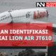 Laporan KNKT Mengenai Bangkai Pesawat Lion Air (Ilustri)