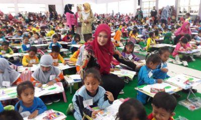 Ciptakan Kreatifitas Pelajar TK, Disdik Sumenep Gelar Lomba Mewarnai di HGN 2018