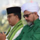 Doa Gubernur DKI Jakarta Anies Rasyd Baswedan di acara Maulid Nabi Muhammad SAW. (FOTO: Dok. Republika)