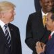 Donald Trump bersama Joko Widodo (Foto Dok. Getty)