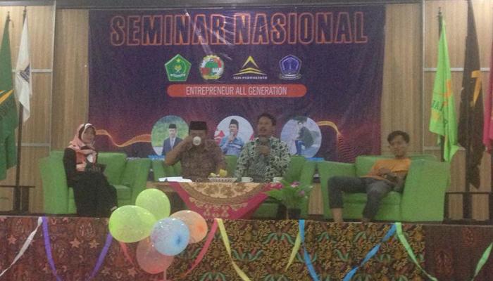 IAIN Purwokerto Gelar Seminar Nasional Enterpreneur All Generation. (FOTO: Do. Kemenag)