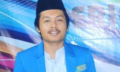 Ketua terpilih PKC PMII Bali-Nusra Aziz Muslim. (FOTO: NUSANTARANEWS.CO)