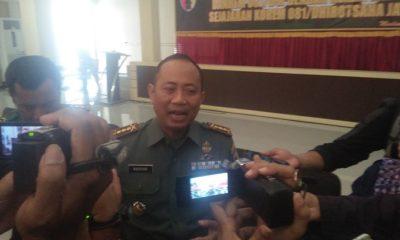 Komandan Korem 081DSJ Madiun, Kolonel Inf Masduki. (FOTO: NUSANTARANEWS.CO/Muh Nurcholis)