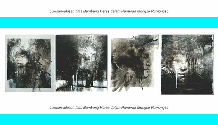 Lukisan Tinta Bambang Heras. (FOTO/Istimewa)