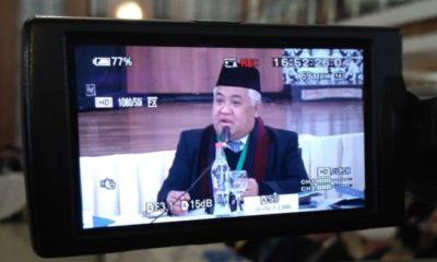 Mantan Ketua Umum Muhammadiyah Prof. Din Syamsuddin. (FOTO: NUSANTARANEWS.CO)