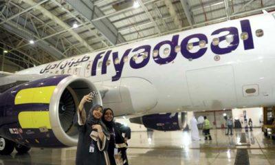 Maskapai penerbangan Arab, Flyadeal (Foto Dok AFP)