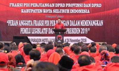 Mendagri Tjahjo Kumolo serukan kader parpol dan anggota DPRD lawan racun-racun demokrasi. (FOTO: NUSANTARANEWS/ by Kemendagri)