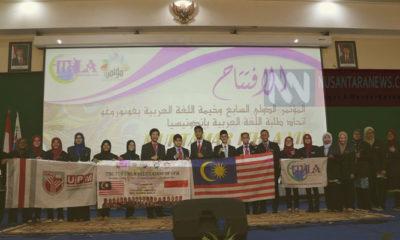 Tiga Perguruan Tinggi di Ponorogo Gelar Muktamar dan Kemah Bahasa Arab Se-Asia Tenggara. (FOTO: NUSANTARANEWS.CO)