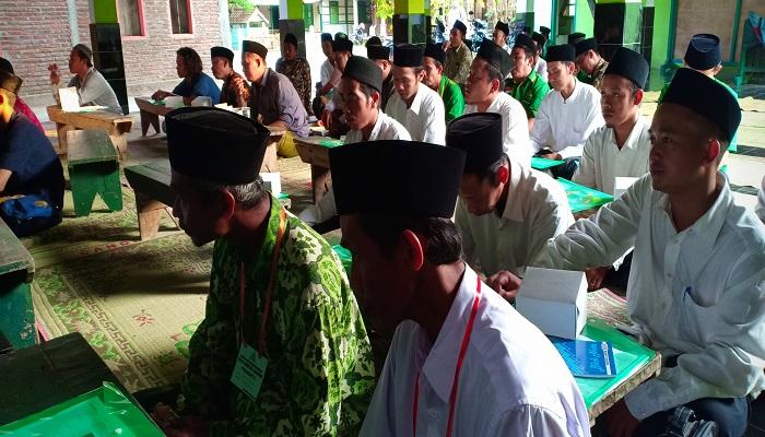Pimpinan Anak Cabang Gerakan Pemuda Ansor (PAC Ansor) Kecamatan Kangkung menggelar Pelatihan Kepemimpinan Dasar (PKD). (Foto: Istimewa)