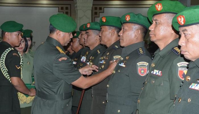 kodam brawijaya, perwira kodam brawijaya, pangdam brawijaya, pejabat kodam brawijaya, kemanunggalan tni, nusantaranews