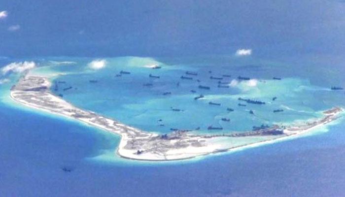 Pembangunan Pangkalan Bawah Laut Cinta di laut Cina Selatan bernama AL Atlantis. (FOTO: Istimewa)