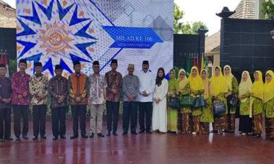 Perayaan milad Muhammadiyah ke-106 di Kabupaten Ponorogo. (FOTO: NUSANTARANEWS.CO/Muh Nurcholis)