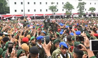 jenderal mulyono, jenderal andika perkasa, prajurit tni ad, tni ad, angkatan darat, ksad, nusantaranews
