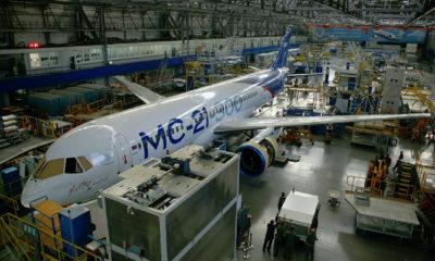 Pesawat Irkut MC-21 (Foto Dok. Globallookpress)