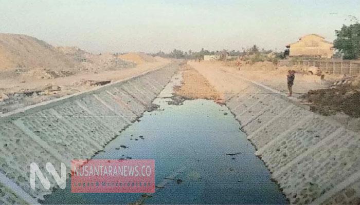 Kementerian Pekerjaan Umum dan Perumahan Rakyat secara bertahap membangun jaringan pipa transmisi air baku di di Distrik Jagebob, Tanah Miring dan Semangga, Kota Merauke. (FOTO: Istimewa)