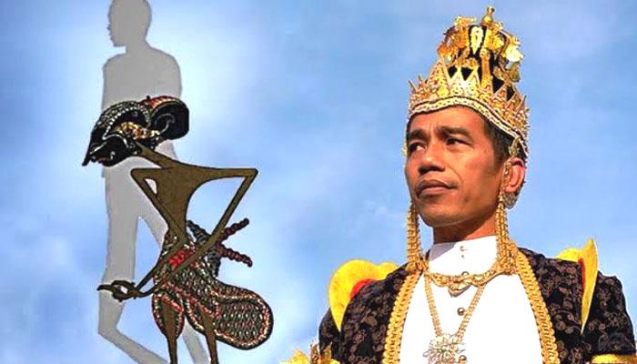 Poster Raja Jokowi. (Ilustrasi/Istimewa)
