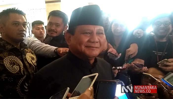 Prabowo Subianto (Foto: NUSANTARANEWS.CO/Romadhon)