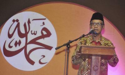 Sambutan Ketua Umum PP Muhammadiyah Haedar Nashir Pada Milad ke 106 Muhammadiyah. (FOTO: Istimewa)