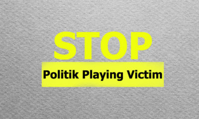 Stop Politik Playing Victim (Ilustrasi Nusantaranews.co)
