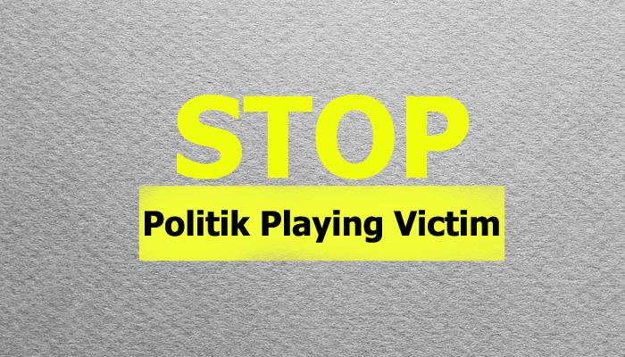 Stop Politik Playing Victim (Ilustrasi Nusantaranews.co)