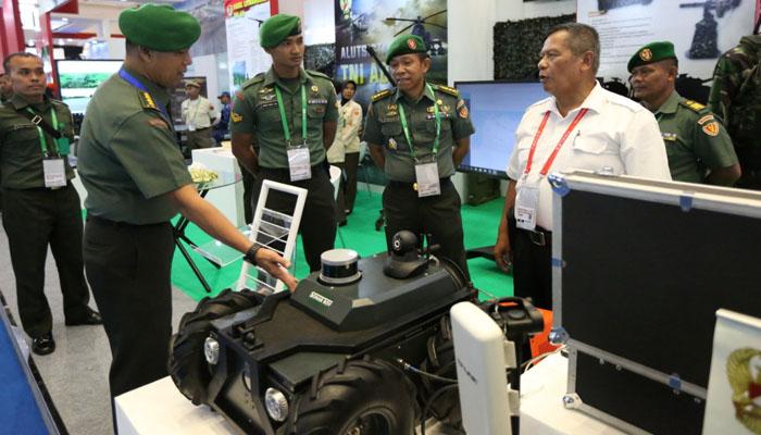 TNI AD Pamerkan Berbagai Prototipe Sistem Pendukung Semua Jenis Alutsista