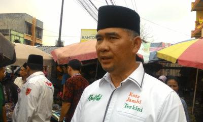 Walikota Jambi, Syarif Fasha. (FOTO: Istimewa)