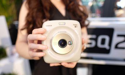 Kamera instan terbaru Fujifilm Instax SQUARE SQ20. (FOTO: Istimewa)