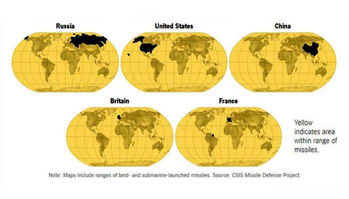 CSIS Map 1. (FOTO: DOK. CSIS Missile Defense Project)