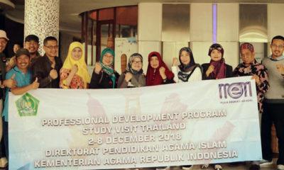 20 Delegasi Tim PAI Kemenag Diberangkatkan ke Prince Songkla University Thailand (Foto NUSANTARANEWS.CO)