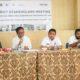 Acara kegiatan District Stakeholder Meeting di aula Dinas Pendidikan. (FOTO: NUSANTARANEWS.CO/Ahmad Syaiful Bahri)