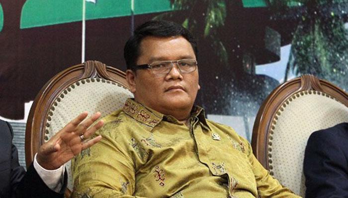 Anggota DPD RI asal Papua Carles Simaremare. (FOTO: NUSANTARANEWS.CO)