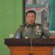 Asisten Teritorial Kepala Staf Angkatan Darat (Aster Kasad) Mayor Jenderal TNI Supartodi berkunjung ke Kodim 0824 Jember. (FOTO: Sis24)