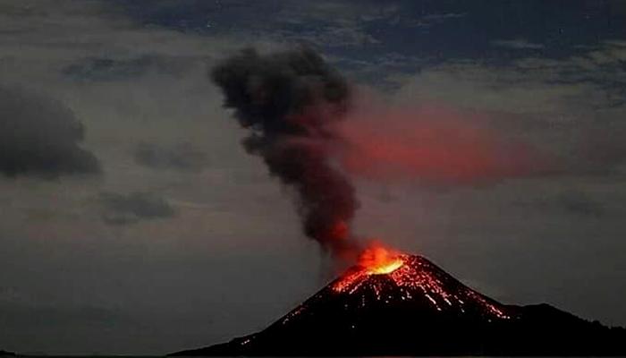 Awan Panas Anak Krakatau (Ilustrasi). (FOTO: Istimewa)