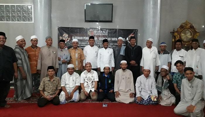 politisasi sara, bawaslu nunukan, gandeng pengurus masjid, nunukan, kaltara, nusantaranews