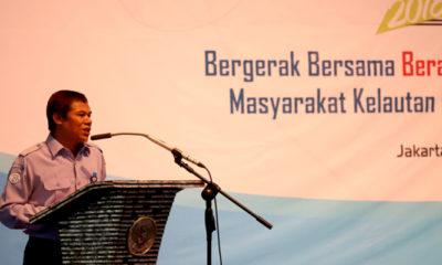 Inspektur Jenderal KKP Muhammad Yusuf, pada pembukaan acara Peringatan Hari Anti Korupsi Sedunia (HAKORDIA) tahun 2018. (FOTO: NUSANTARANEWS.CO/KKP)
