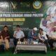 Calon DPR RI dari Partai Bulan Bintang, Ahmad Yani di acara Talkshow Forum Caleg Muslim di Masjid Al-Furqan Dewan Dakwah Islamiyah Indonesia. (FOTO: NUSANTARANEWS.CO)