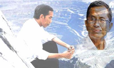 Dahlan Iskan Ucapkan Selamat untuk Keberhasilan Pemerintah Jokowi Kuasai Saham Freeport. (ILUSTRASI: NUSANTARANEWS.CO)