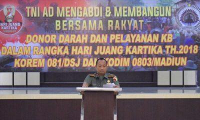 Danrem 081/DSJ Kolonel Inf Masduki. (FOTO: Penrem 081)