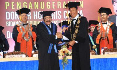 honoris causa, soekarwo, pakde karwo, universitas muhammadiyah malang, pendidikan vokasi, gubernur jatim, nusantaranews