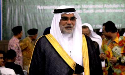 Duta Besar Arab Saudi untuk Indonesia Syaikh Osama bin Mohammed Abdullah Al Shuhaibi. (FOTO: Istimewa)