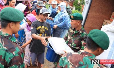 Evakuasi dan Pemulihan Korban Tsunami Banteng-Lampung Terus Dilakukan TNI AD (Foto Dispenad untuk NUSANTARANEWS.CO)