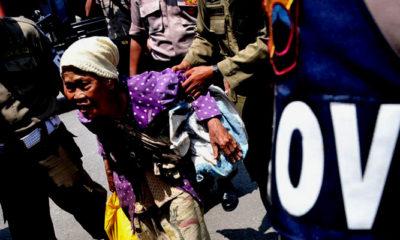 Gelandangan diamankan Petugas Satpol PP. (FOTO: Istimewa)